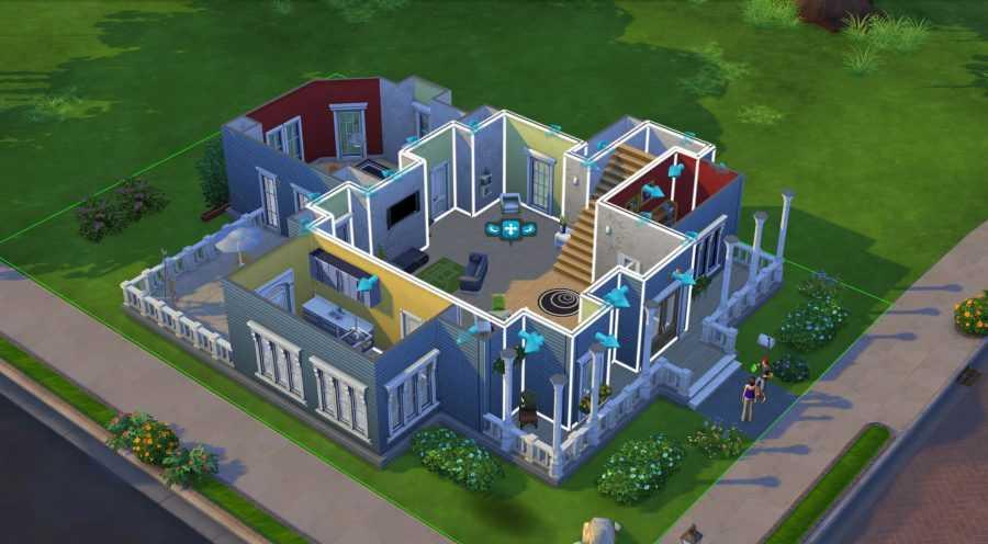 Дом в игре