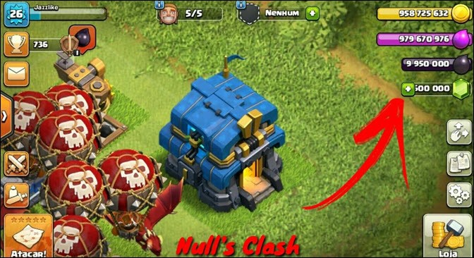 Null Clash of Clans Royale
