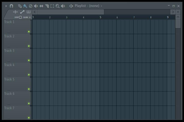 Рабочая область FL Studio
