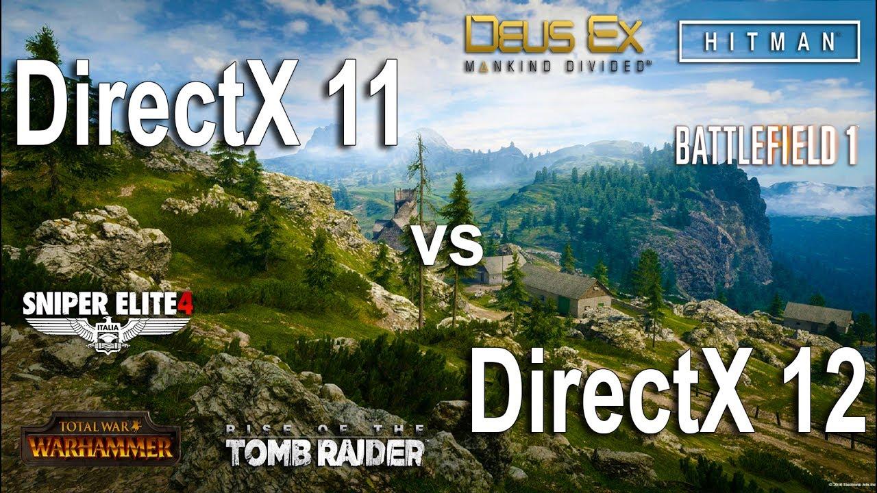 DirectX 12 против DirectX 11