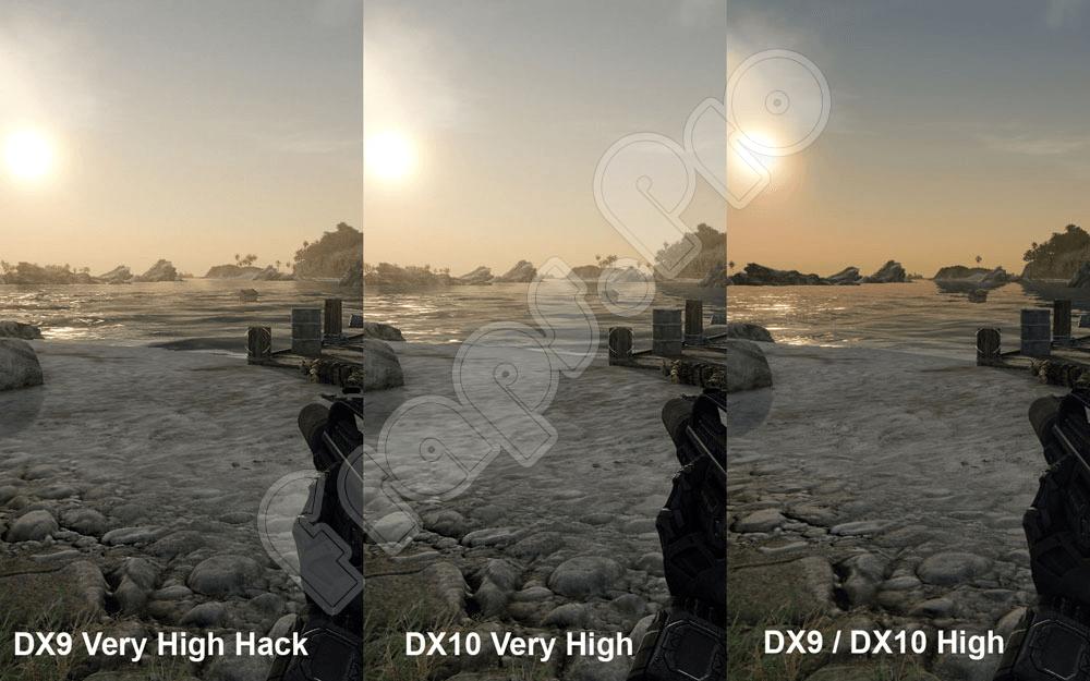 DirecX 10 против DirecX 9