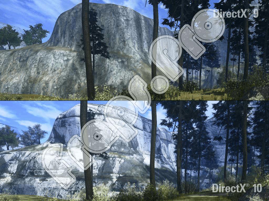 Разница DirectX