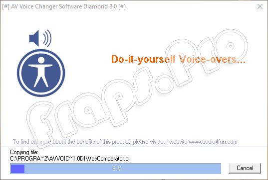 Установка AV Voice Changer Diamond