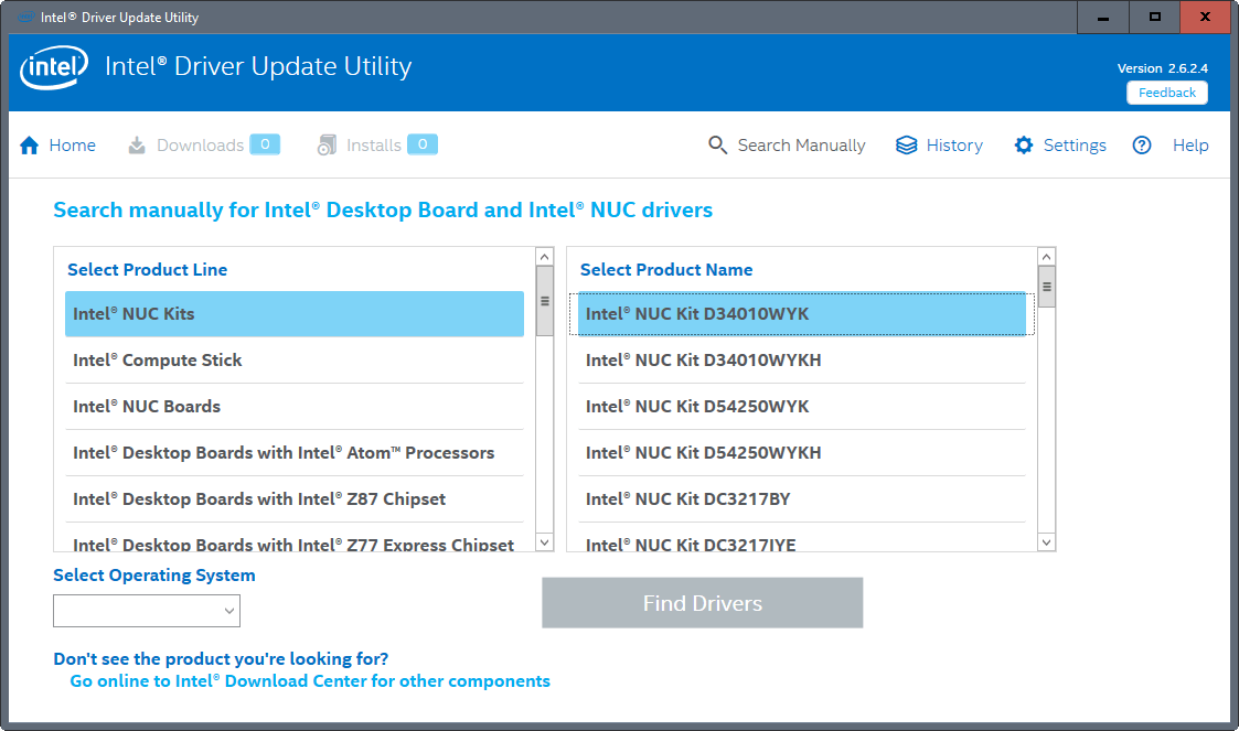 Intel Driver Update Utility Installe