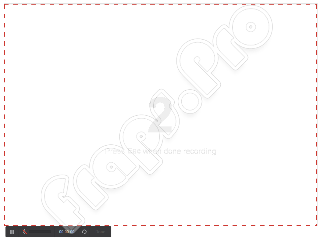Начало записи iSpring Free Cam