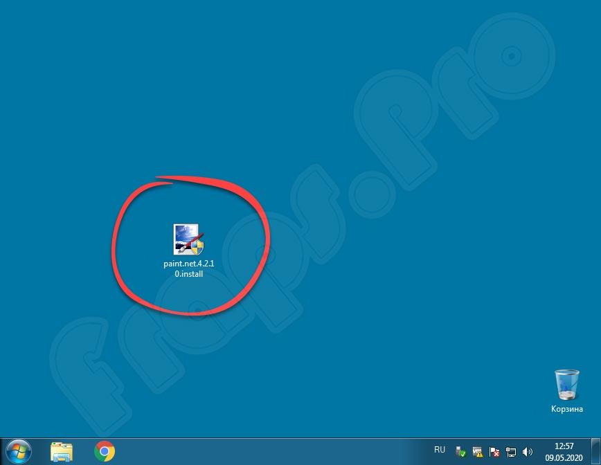 Paint.NET 4.2.14 на русском языке для Windows 7
