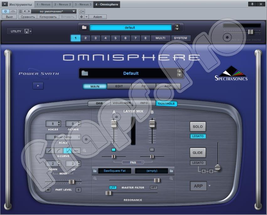 Spectrasonics - Omnisphere 2.6.3d торрент